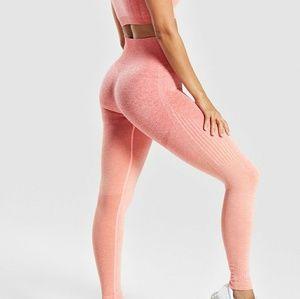 364f6f163d Gymshark Pants | Ombre Seamless Leggings Peach Coral | Poshmark